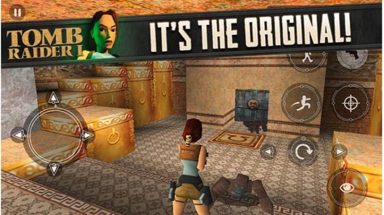 Elérhető iOS-re az első Tomb Raider kép