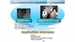 3D-s kamera okostelefonokba a Toshibától kép