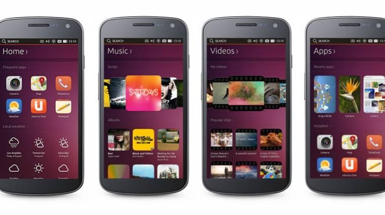 Felső kategóriás lesz az első ubuntus mobil kép