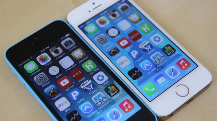 Csökkenhet az iPhone iránti kereslet kép