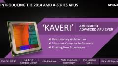 Úton a boltokba az első AMD Kaveri APU-k kép