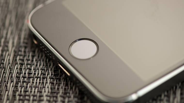 Mobilos fizetésre használná a Touch ID-t az Apple  kép