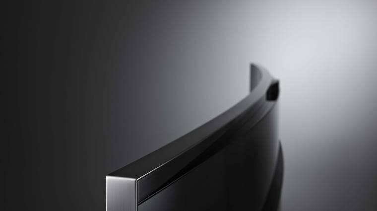 Tényleg hajlítható tévét demonstrált a Samsung kép