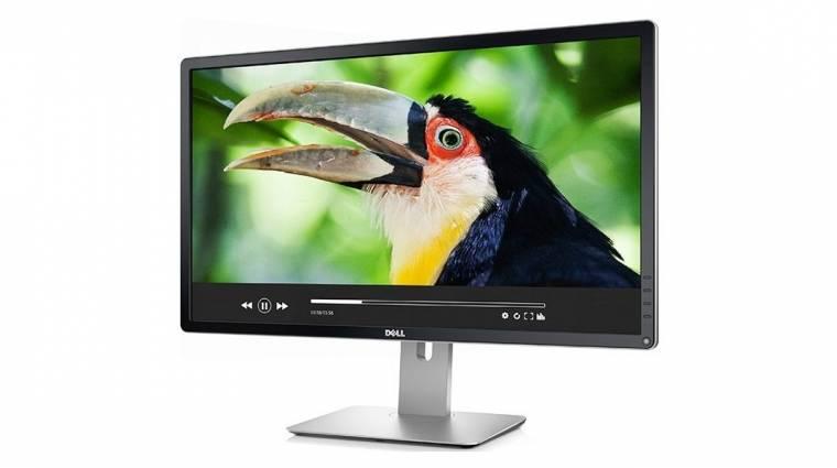 Irodai munkára való a Dell olcsó 4K-s monitora kép