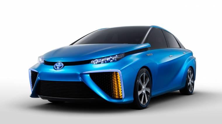 Az üzemanyagcellás autókra koncentrál a Toyota kép
