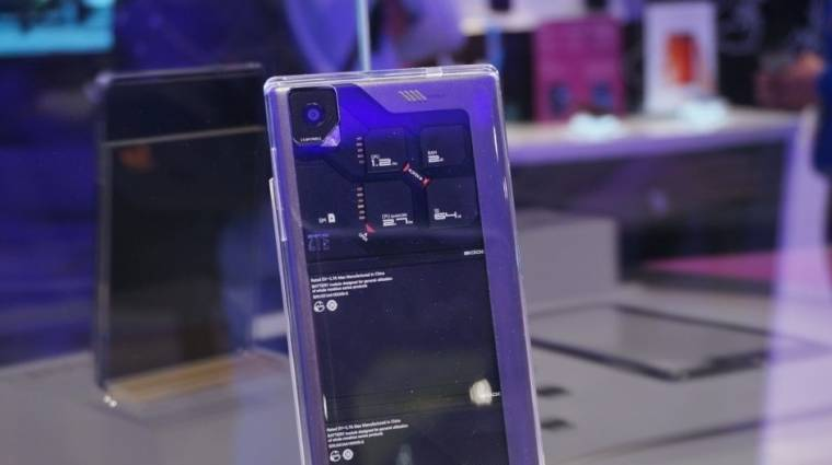 Moduláris okostelefon a ZTE-től kép