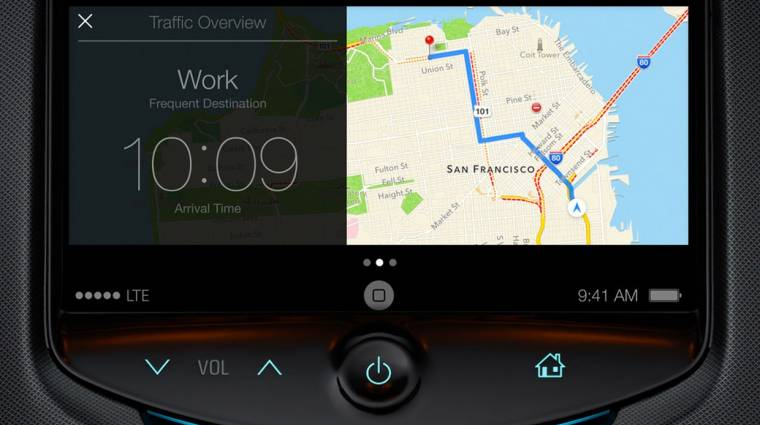 Nem valószínű, hogy az autókba költözik az Apple kép