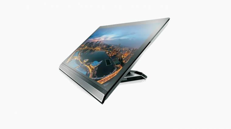 Megfizethetőbb 4K-s monitor a Lenovótól kép