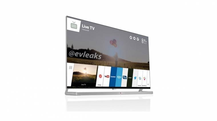 Ilyen lesz az LG webOS-es tévéje kép