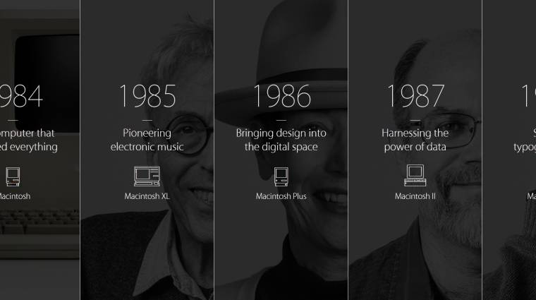 30 éve került piacra a Macintosh kép
