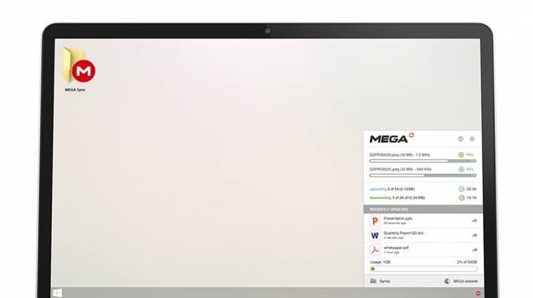 Elérhető a windowsos MEGA kliens kép