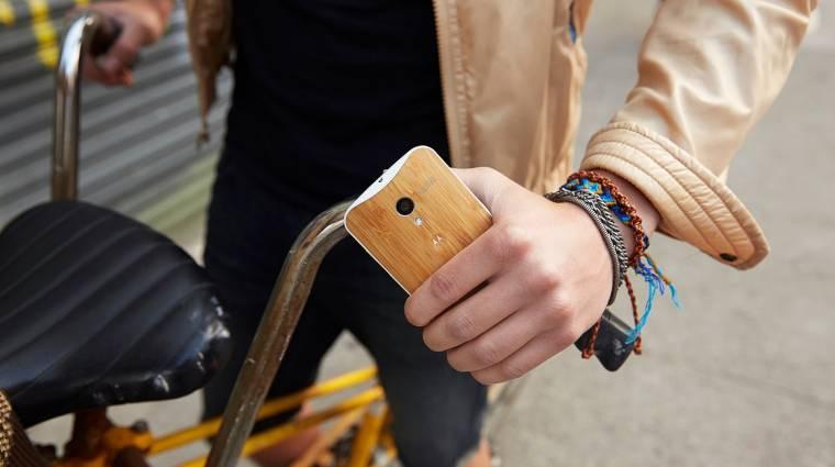 50 dolláros okostelefonon gondolkozik a Motorola kép