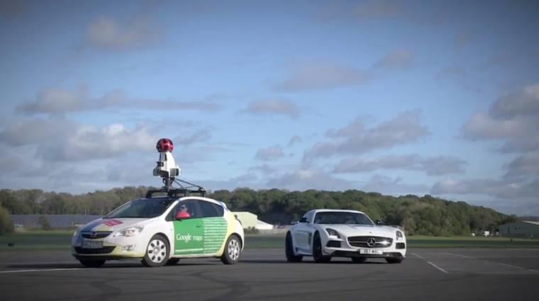 Felkerült a Top Gear pályája a Google Street View-ra kép