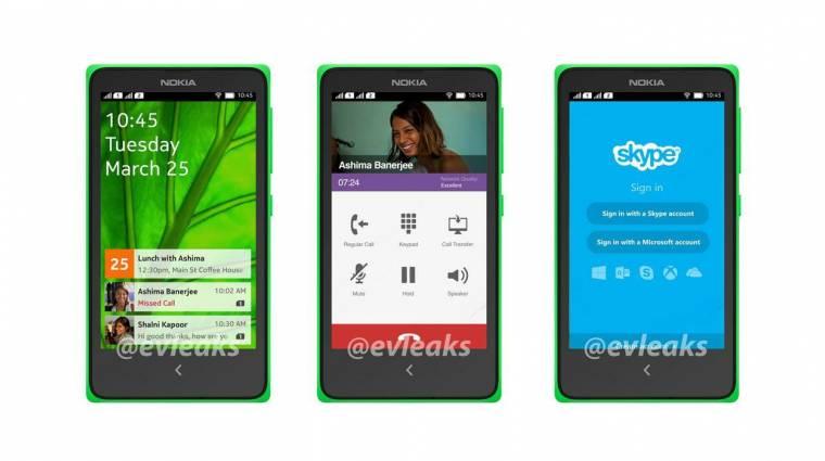 Képeken a Nokia androidos mobilja kép