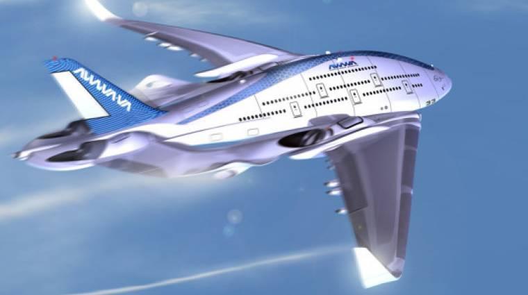 Akár ilyen is lehet a jövő repülőgépe kép