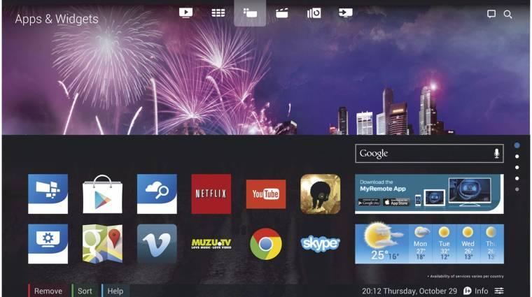 Androidot kapnak a Philips Ambilight tévéi kép