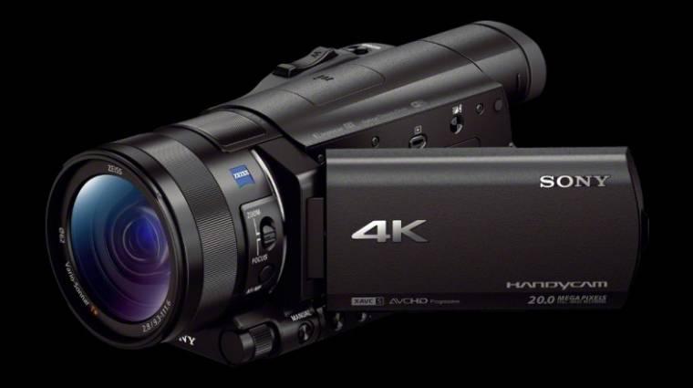 Otthoni 4K kamerát mutatott be a Sony kép