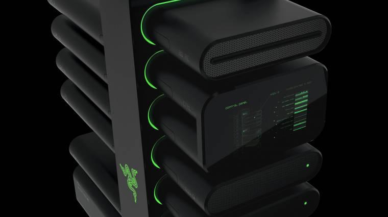 Forradalmi moduláris gamer PC a Razertől kép
