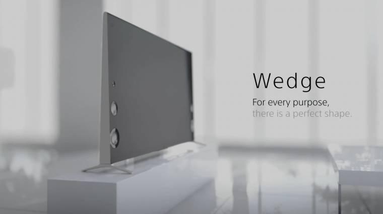 Új tévés formatervvel ékeskedik a Sony kép