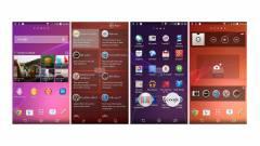 Képeken a Sony új androidos kezelőfelülete kép