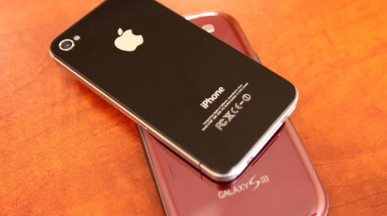 Sokkal népszerűbb az Apple a Samsungnál kép