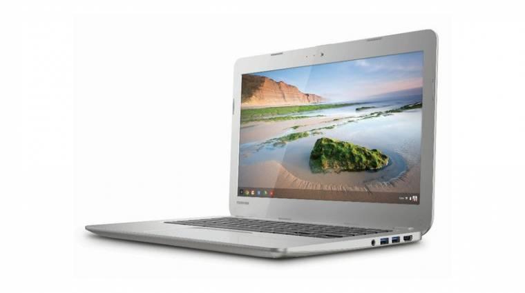 Berobban a Chromebookok piacára a Toshiba kép