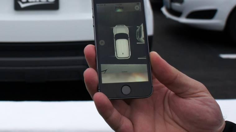 Így parkoljunk be egy iPhone-ról kép