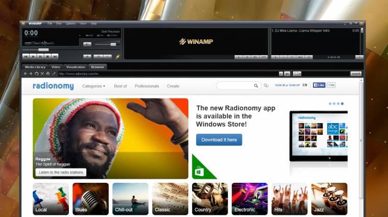 Hivatalos: új gazdára talált a Winamp kép