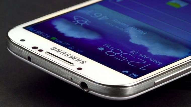 Nem lesz retinaszkenner a Galaxy S5-ben kép