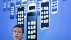"""A Facebook immár hivatalosan is """"mobilcéggé"""" vált kép"""