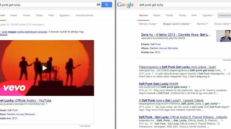 Zenés Youtube-videók a Google találati lista tetején kép