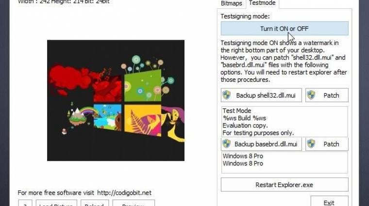 Hogyan cseréljük ki a Windows 8 bootlogóját? kép