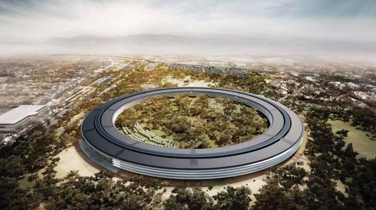 Már építik az új Apple-főhadiszállást kép