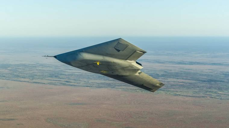 Levegőben az angolok legfejlettebb repülőgépe kép
