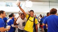 Hatalmas siker a brazil Apple Store kép