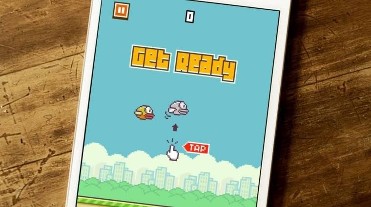 Összetört a Flappy Bird fejlesztője kép