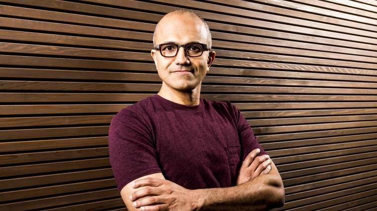 Felhasználóközpontú Microsoftot ígér Nadella kép
