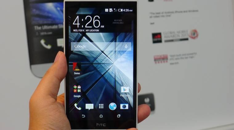 Az iPhone 5C babérjaira tör az HTC Desire 816 kép