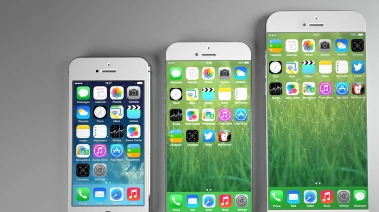Váratlan nevet kaphat az iPhone 6 kép