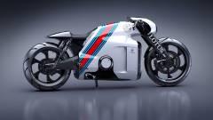 Elképesztő szupermotor a Tron designerétől kép