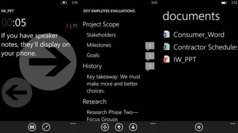Hogyan irányítsuk az Office-t Windows Phone-ról? kép