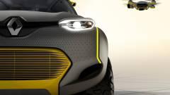 Saját dugófigyelő drónja van a Renault új tanulmányautójának kép