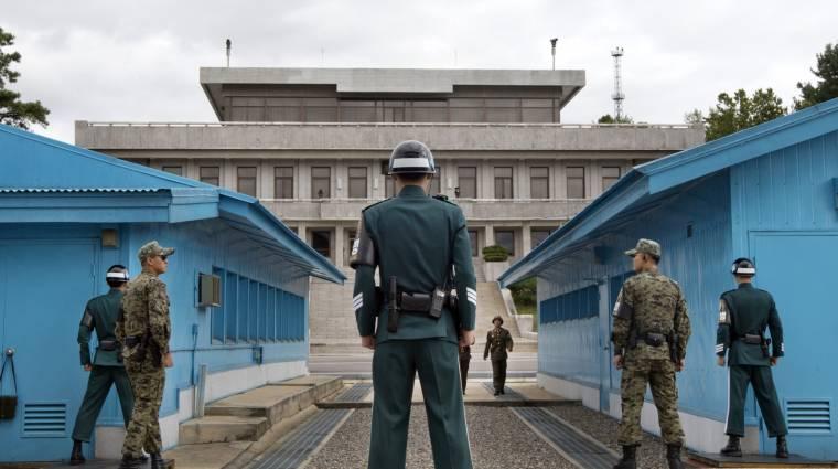 Kinectek őrzik a dél-koreai határt kép