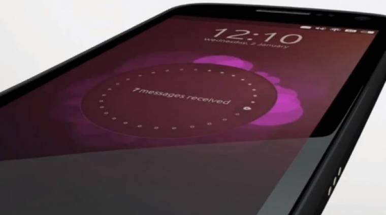 Idén már lesz Ubuntu okostelefon kép