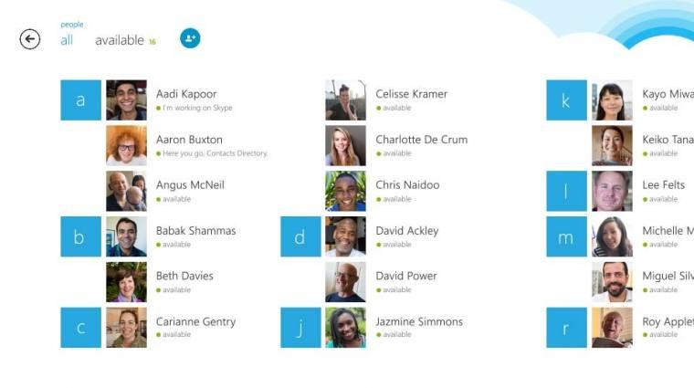 Végre szinkronizál az eszközök közt a Skype kép