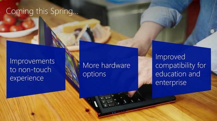 Hivatalos a Windows 8.1 Update 1 kép