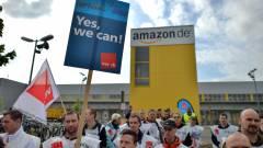 Kicsit sem érdeklik az Amazont a sztrájkoló németek kép