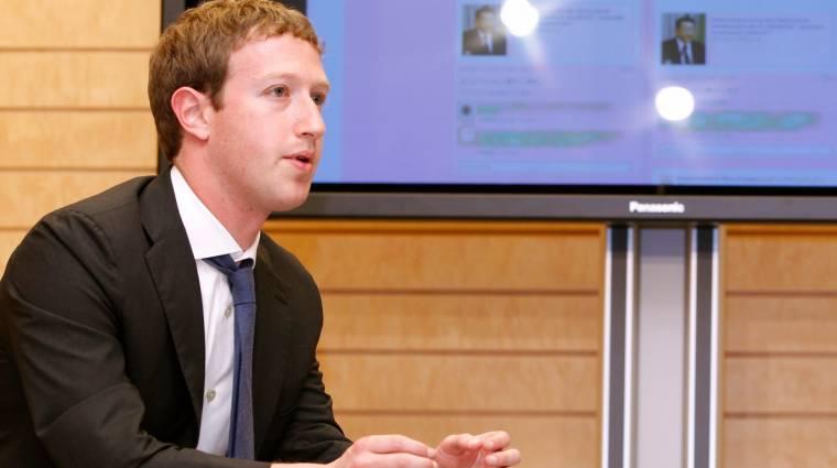 Zuckerberg elégedetlen Obamával kép