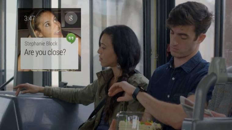 Az Android Wear rendszerre épül az LG G Watch okosórája kép