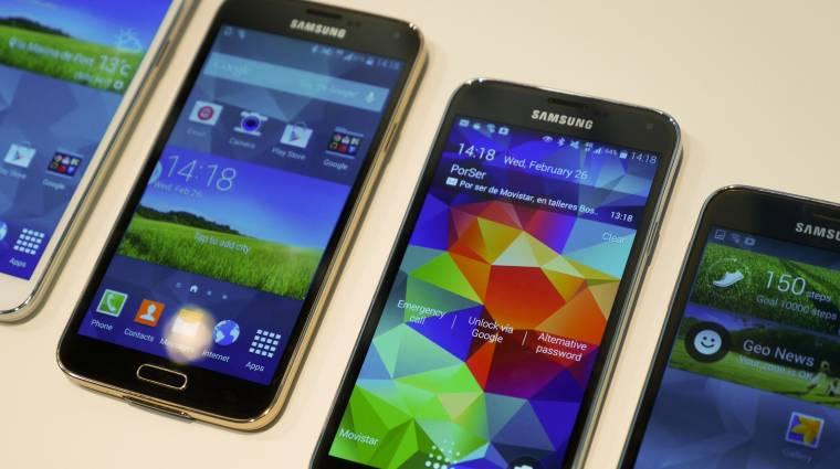 Olcsóbb lesz a Galaxy S5 az elődjénél kép